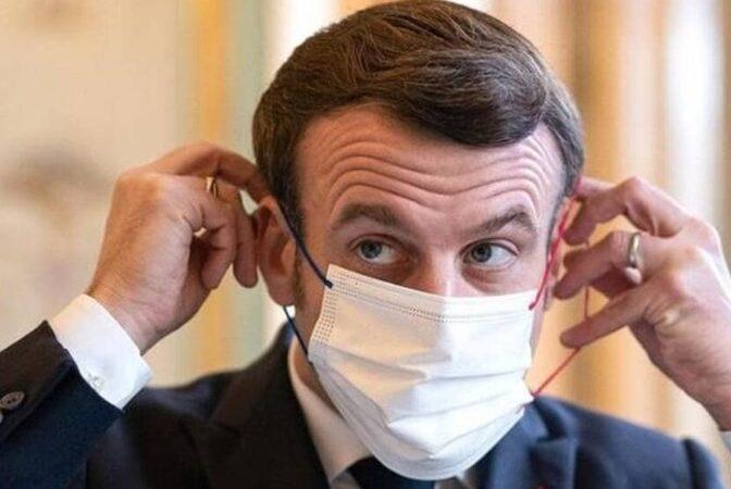 Emmanuel Macron covid-19