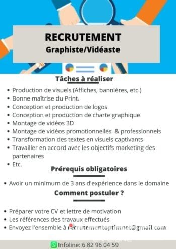 Recrutement-Graphiste-Videaste