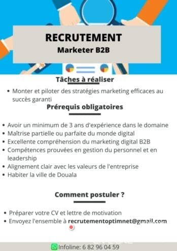 Recrutement-Marketer-B2B
